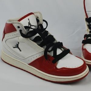 reputable site 654b2 f634d Nike   Jordan 2009 High Top Red White Black 6.5y